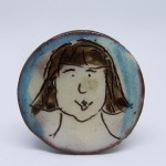 brooch girl with bob